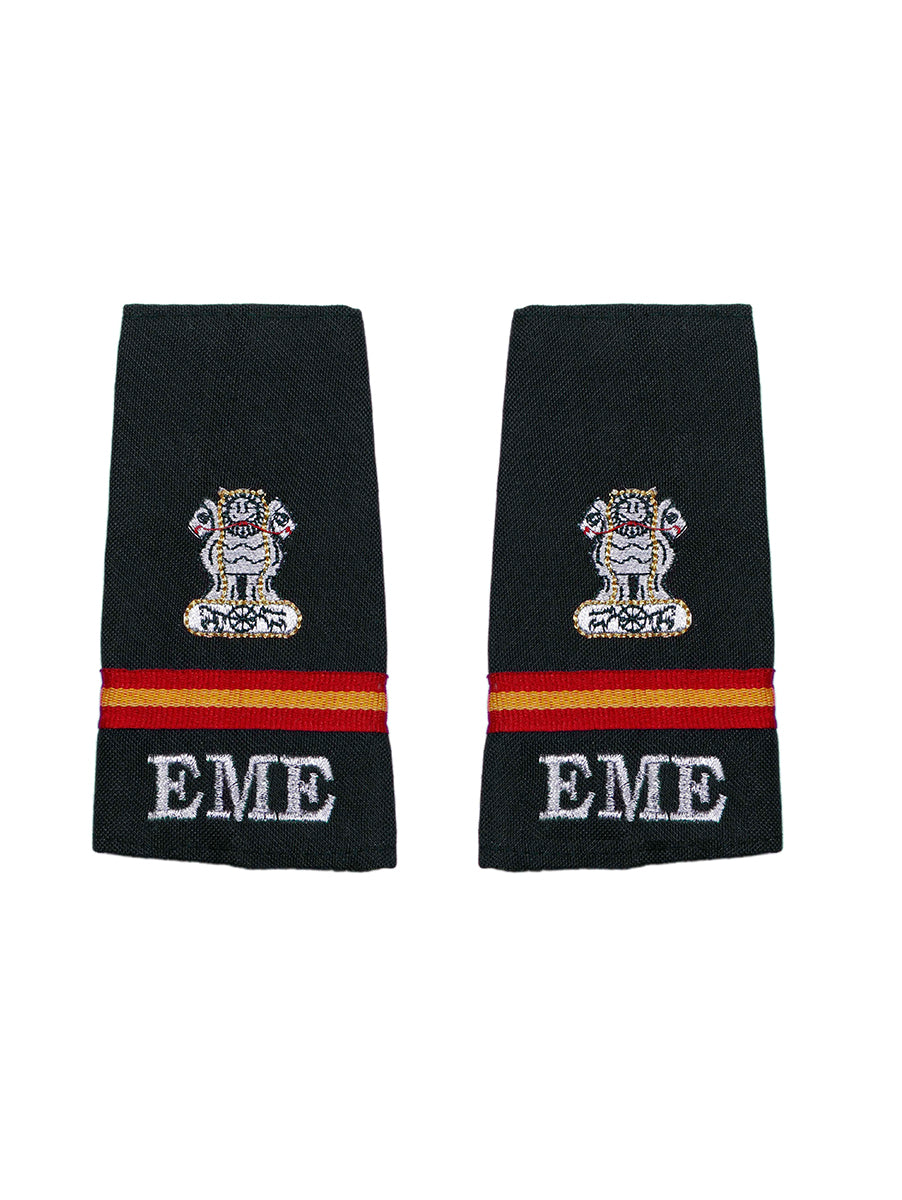 Epaulette Subedar Major The Corps of Electronics and Mechanical Engineers