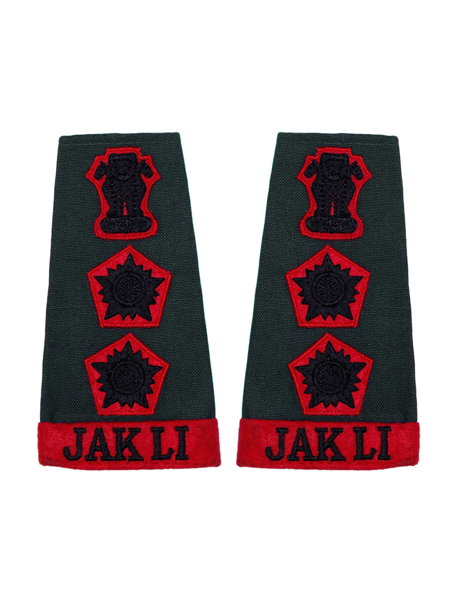 Epaulette Colonel Jammu And Kashmir Light Infantry