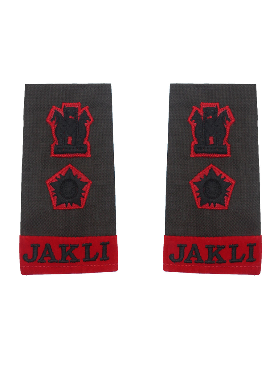Epaulette Lieutenant Colonel Jammu And Kashmir Light Infantry