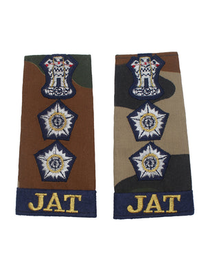 Epaulette Captain Jat Regiment