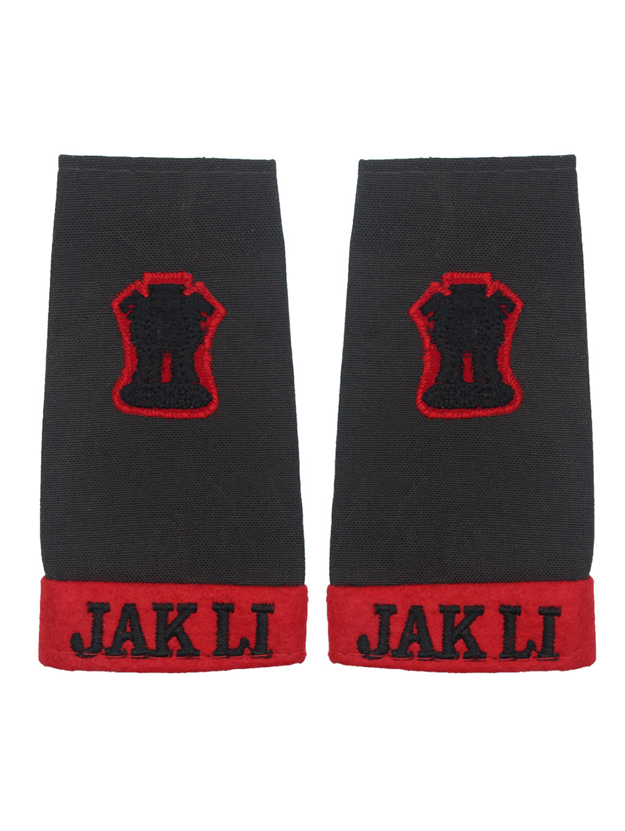 Epaulette Major Jammu And Kashmir Light Infantry