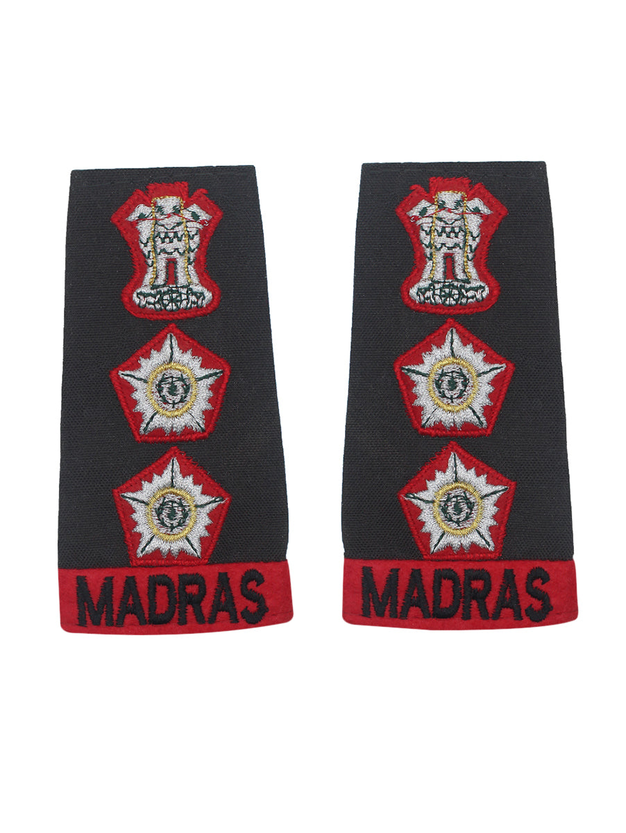 Epaulette Captain Madras Regiment