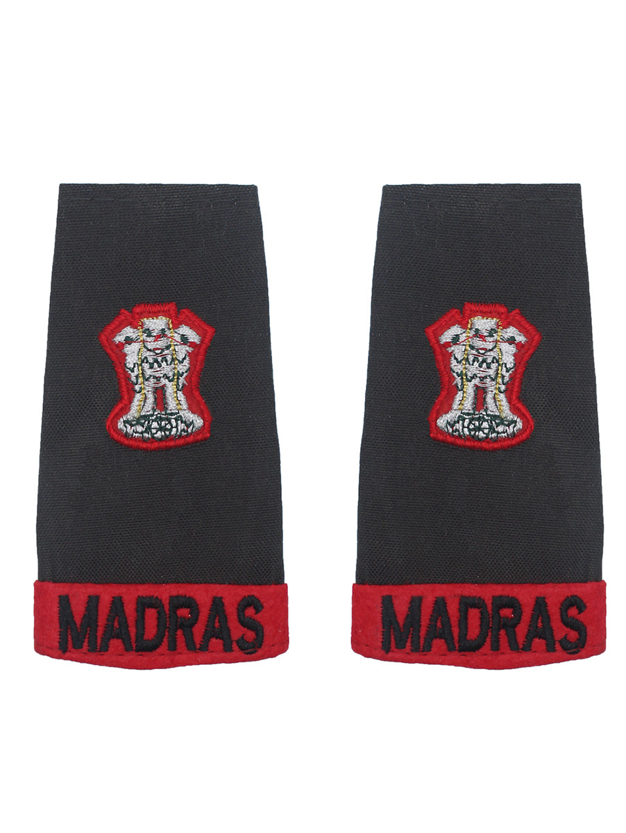 Epaulette Major Madras Regiment