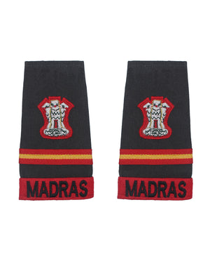 Epaulette Subedar Major Madras Regiment