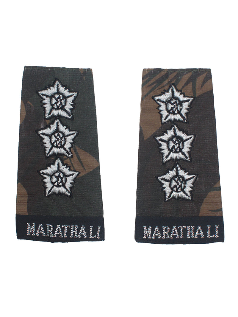 Epaulette Captain Maratha light Infantry