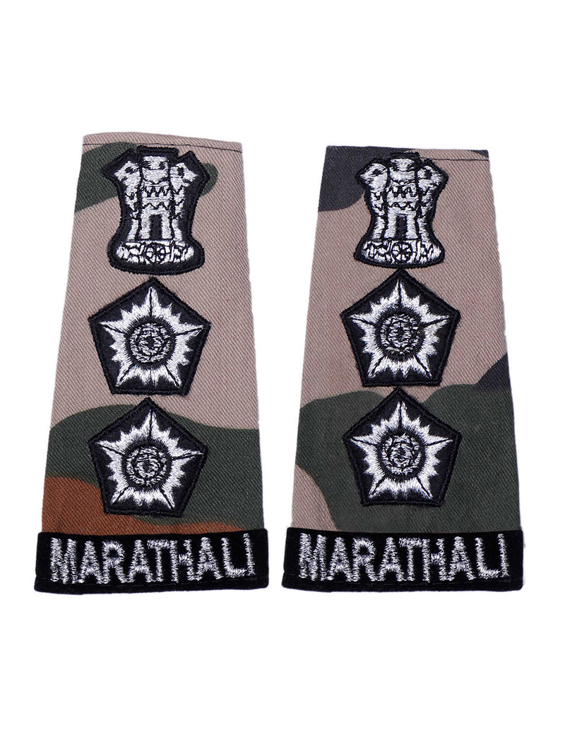 Epaulette Colonel Maratha Light Infantry