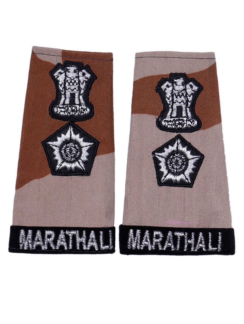 Epaulette Lieutenant Colonel Maratha Light Infantry