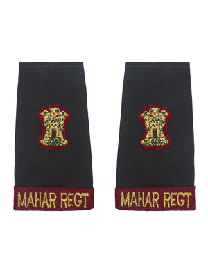 Epaulette Major Mahar Regiment
