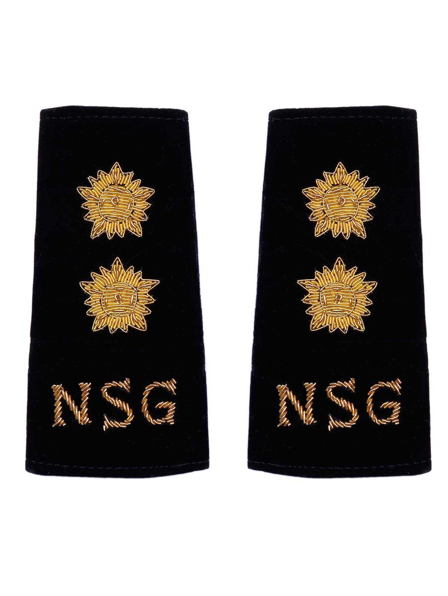 Epaulette Hand Made Lieutenant National Security Guards
