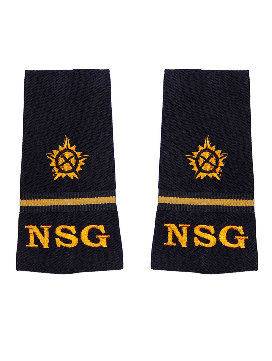Epaulette Naib Subedar National Security Guards