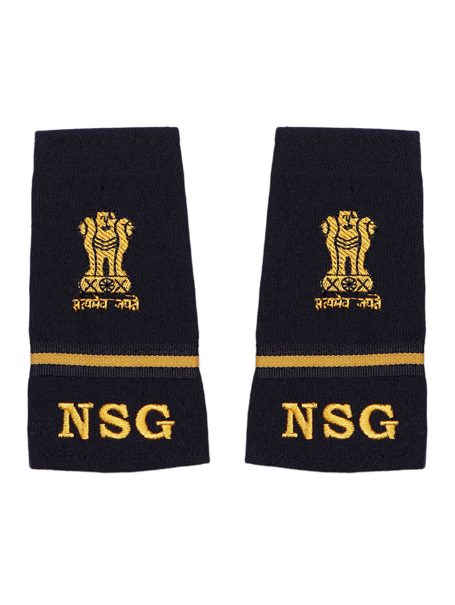 Epaulette Subedar Major National Security Guards