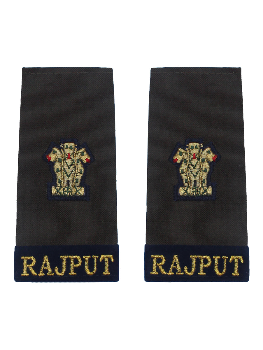 Epaulette Major Rajput Regiment