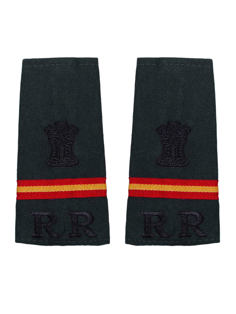 Epaulette Subedar Major Rashtriya Rifles
