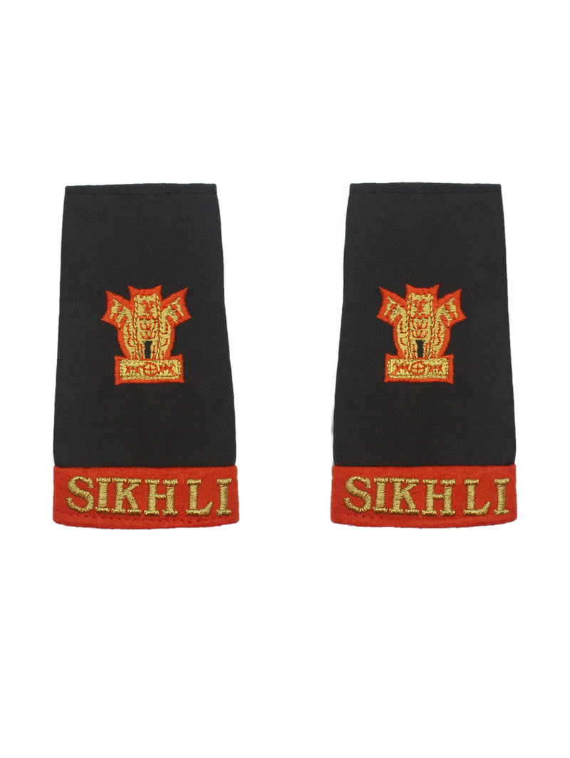 Epaulette Major Sikh Light Infantry