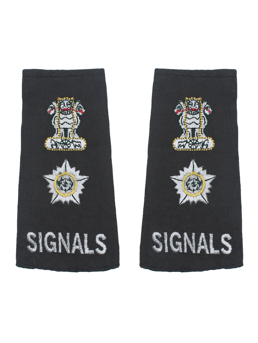 Epaulette Lieutenant Colonel The Corps of Signals