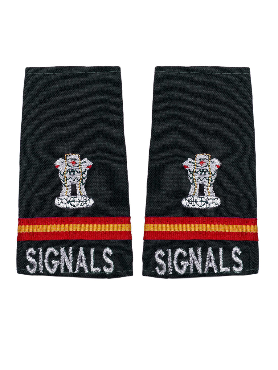 Epaulette Subedar Major The Corps of Signals