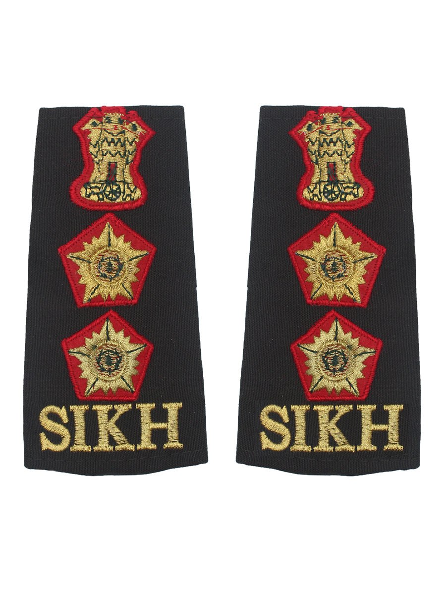 Epaulette Colonel Sikh Regiment