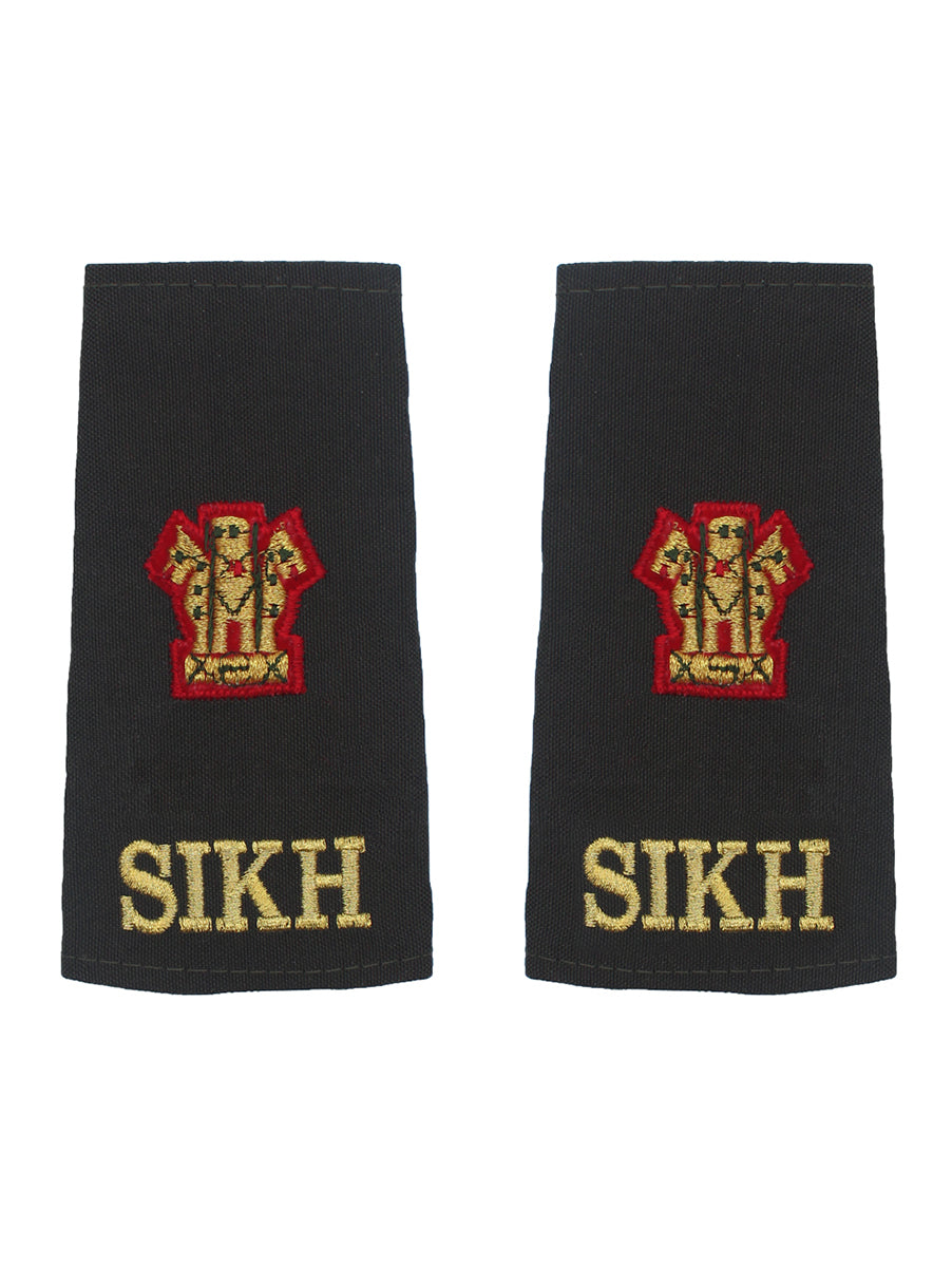Epaulette Major Sikh Regiment