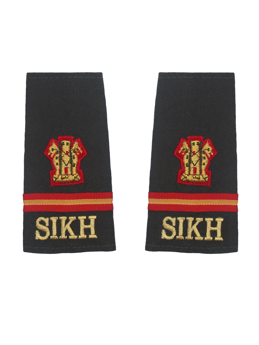 Epaulette Subedar Major Sikh Regiment