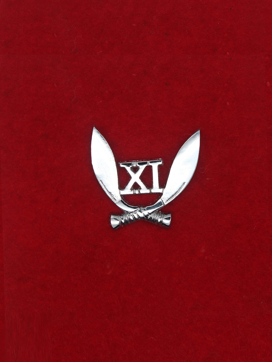 Beret Cap Badge 11 Gorkha Rifles