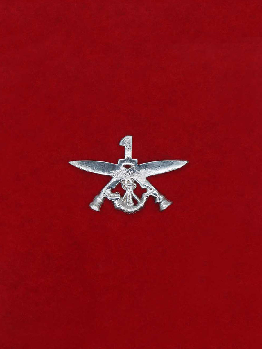 Beret Cap Badge 1 Gorkha Rifles
