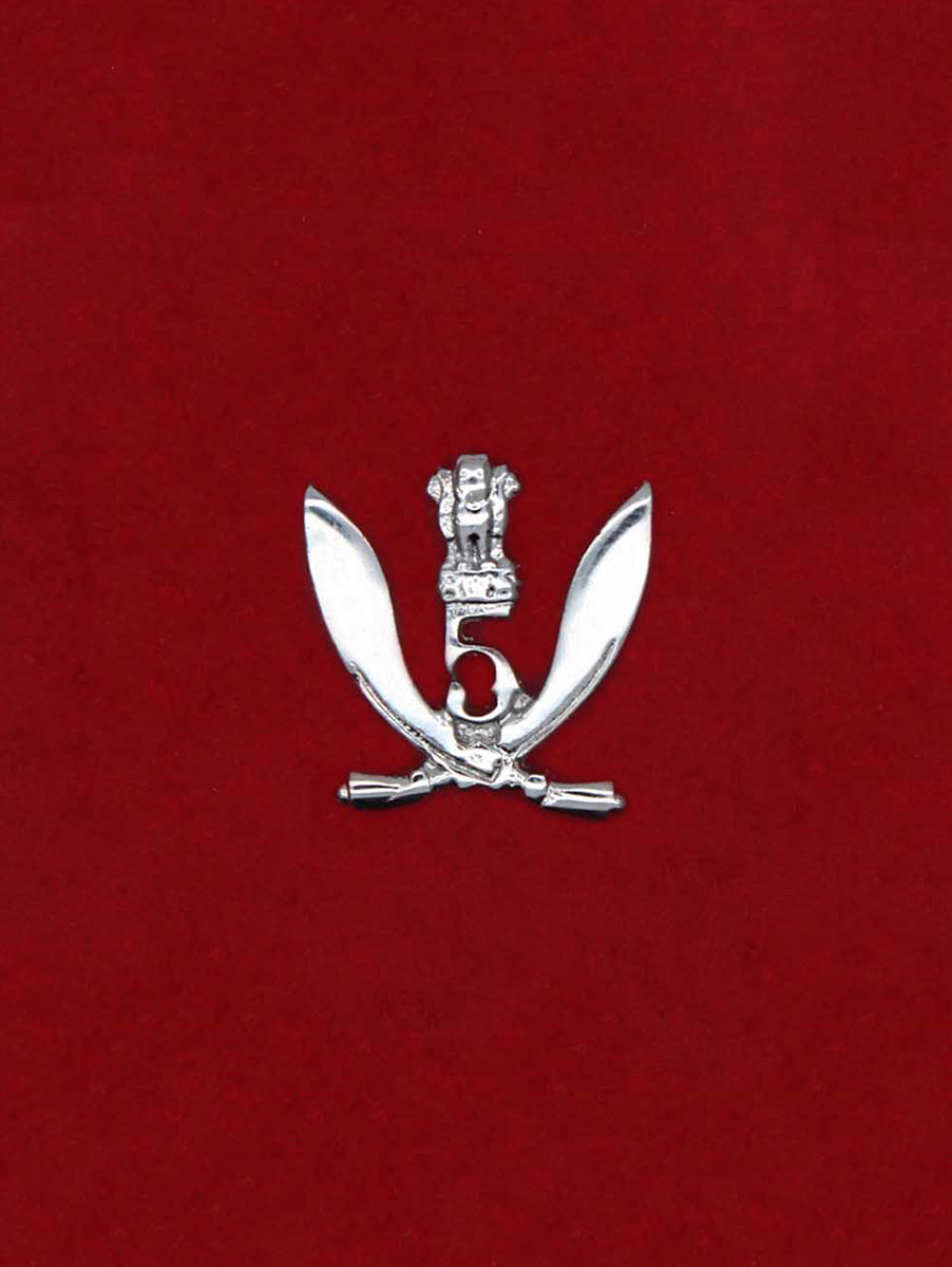 Beret Cap Badge 5 Gorkha Rifles