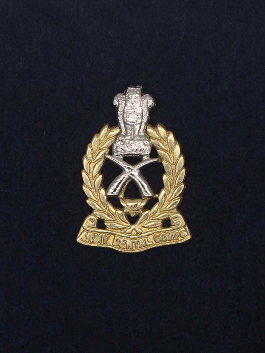 Beret Cap Badge Army Dental Corps