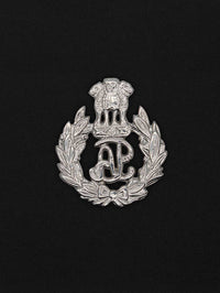 Beret Cap Badge Assam Police