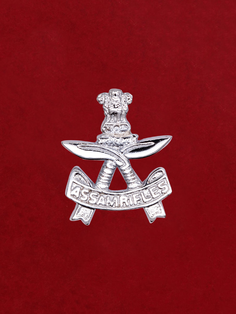 Beret Cap Badge Assam Rifles