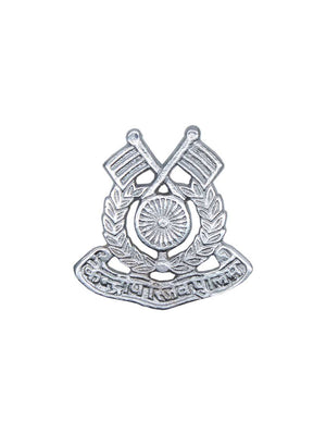 Beret Cap Badge Central Reserve Police Force Hindi