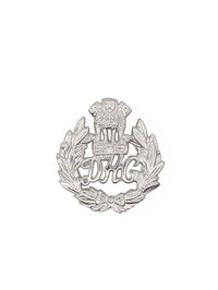 Beret Cap Badge Delhi Home Guard