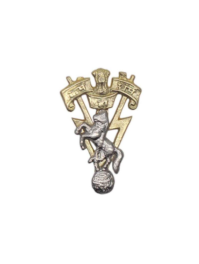 Beret Cap Badge The Corps of Electronics and Mechanical Engineers