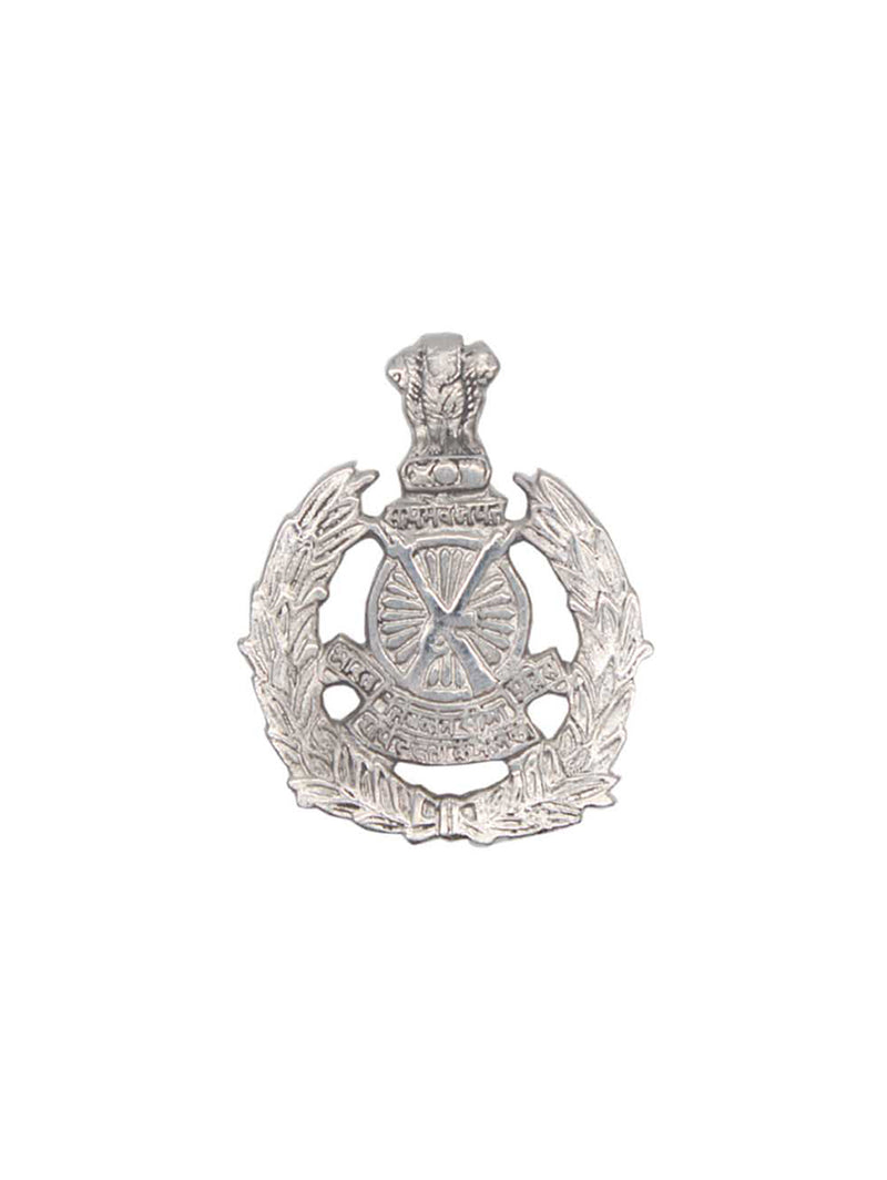 Beret Cap Badge Indo-Tibetan Border Police Hindi