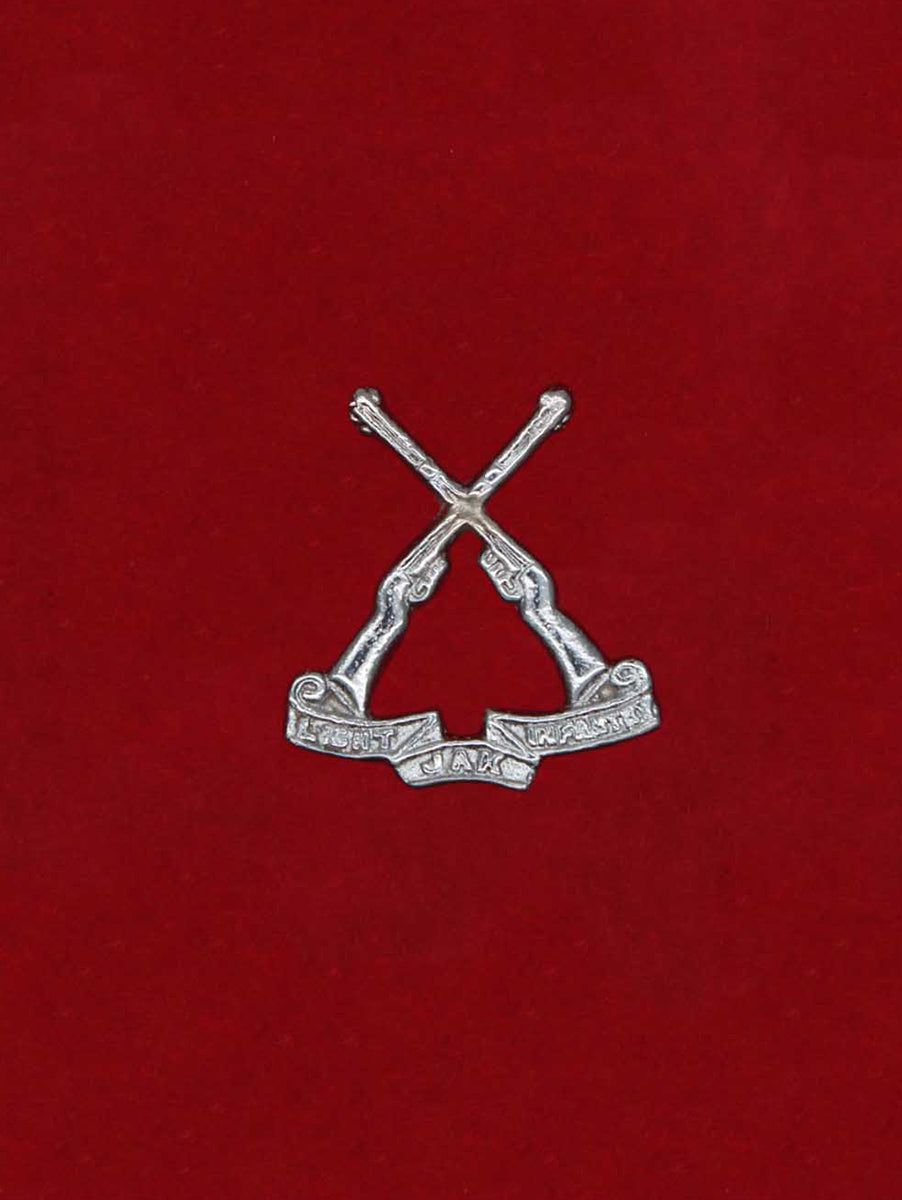 Beret Cap Badge Jammu And Kashmir Light Infantry