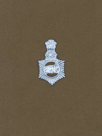 Beret Cap Badge Jharkhand Police Hindi