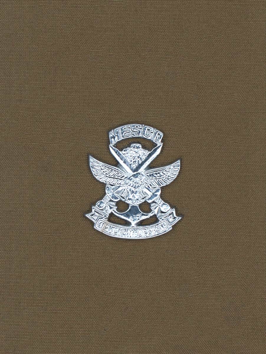 Beret Cap Badge Maharashtra Ex-Servicemen Corporation