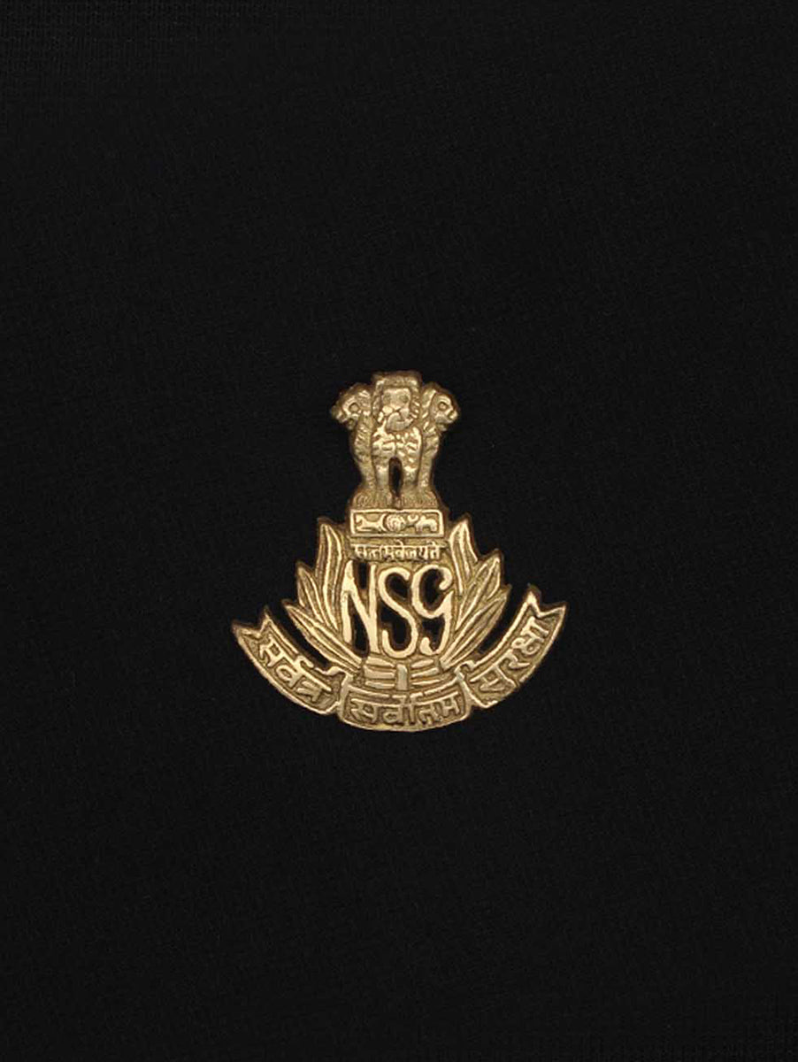Beret Cap Badge National Security Guards