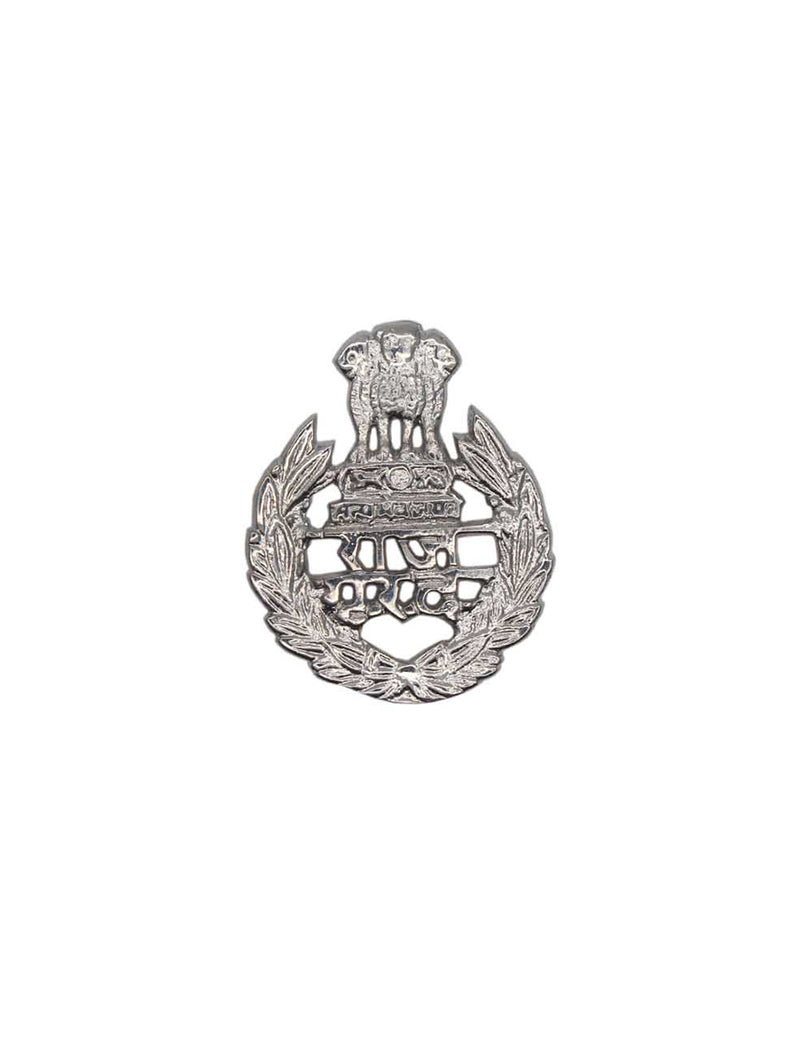 Beret Cap Badge Raj Grah Raksha Dal Hindi