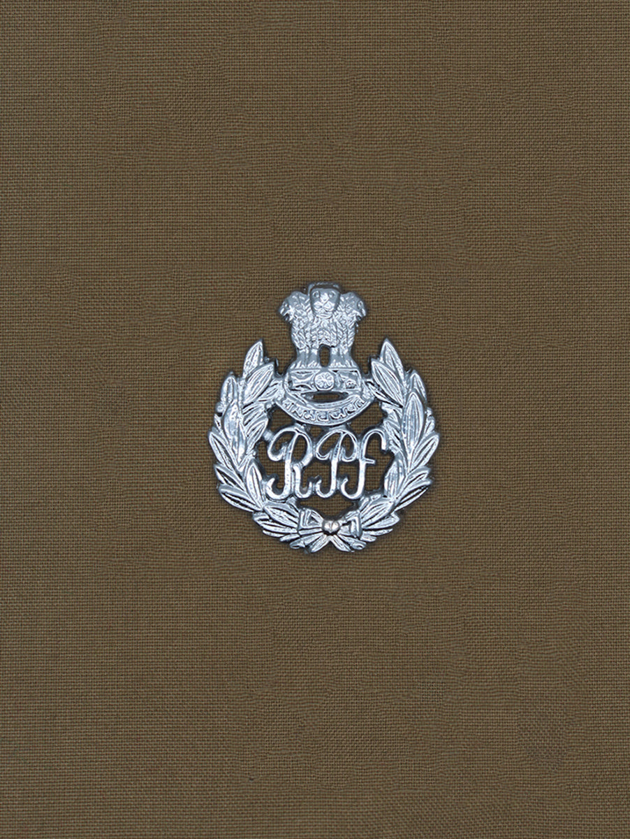 Beret Cap Badge Railway Protection Force
