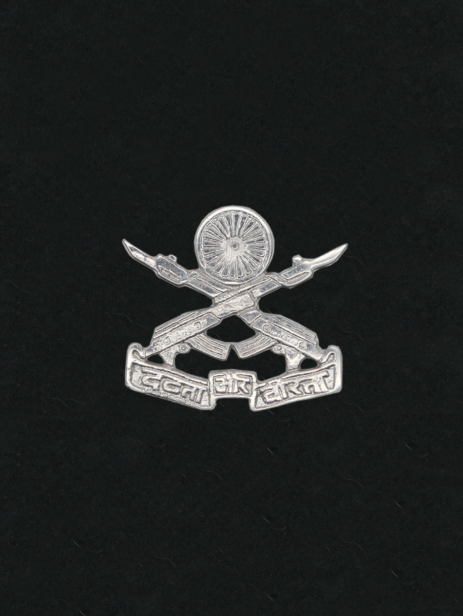 Beret Cap Badge Rashtriya Rifles