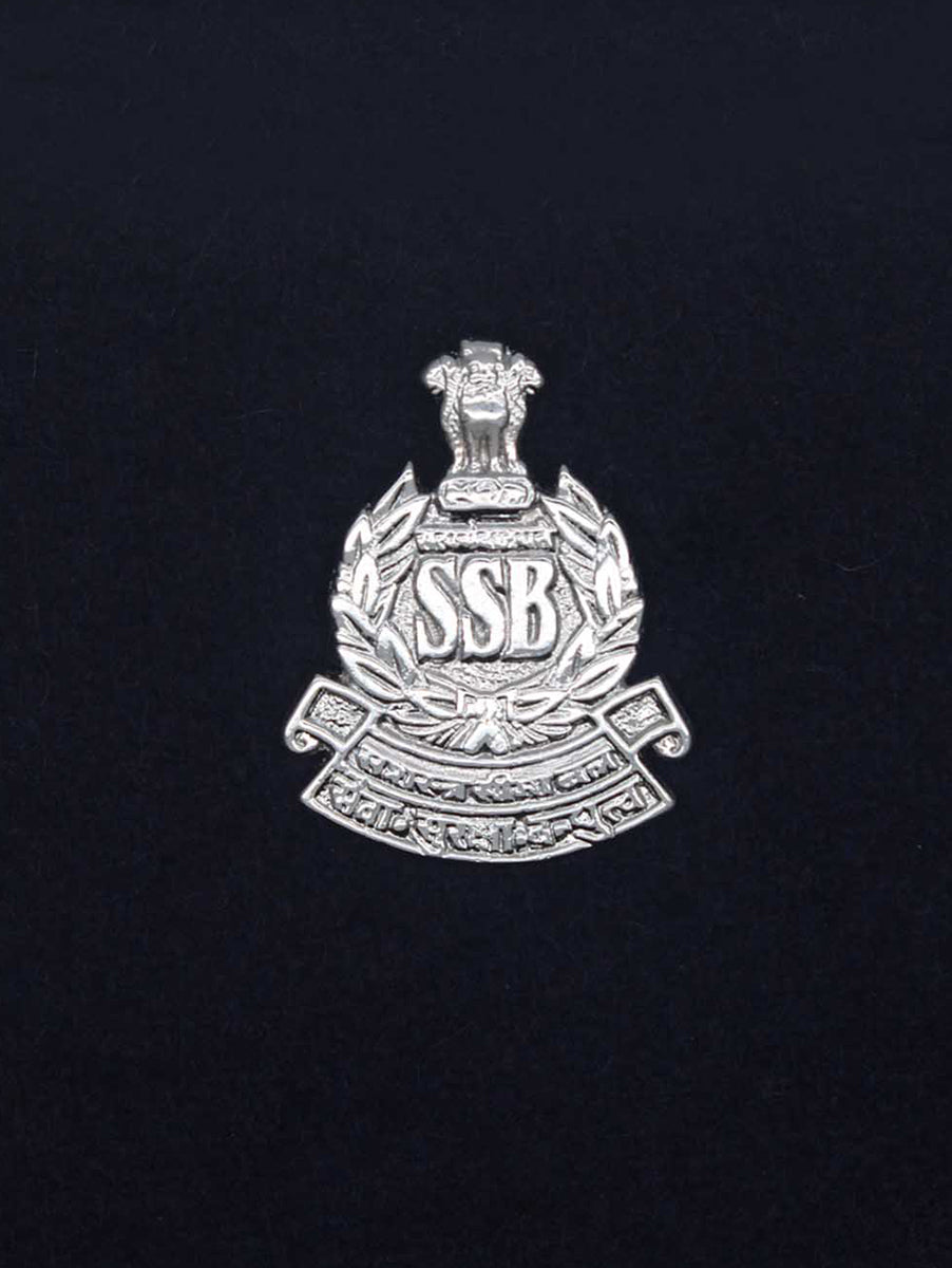 Beret Cap Badge Sashastra Seema Bal
