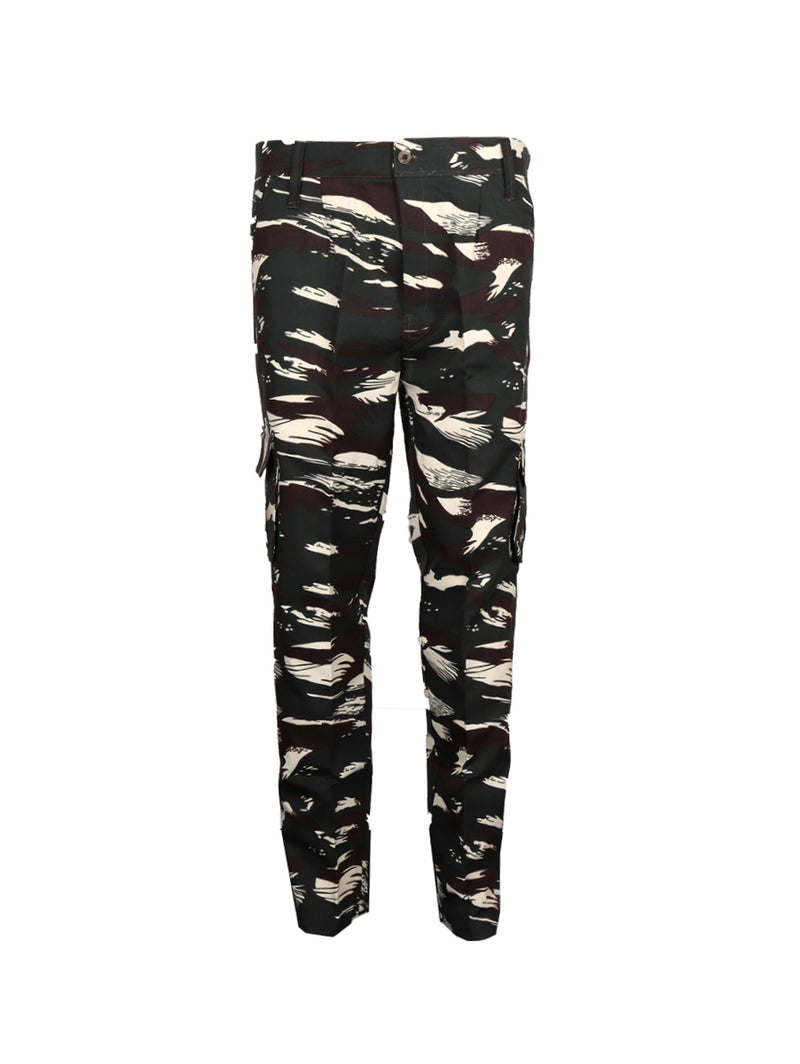 Cotton Jungle Print Cargos