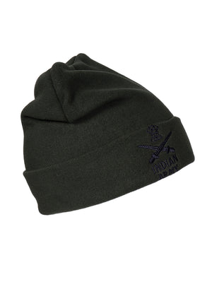 Olive Green Winter Cap Indian Army