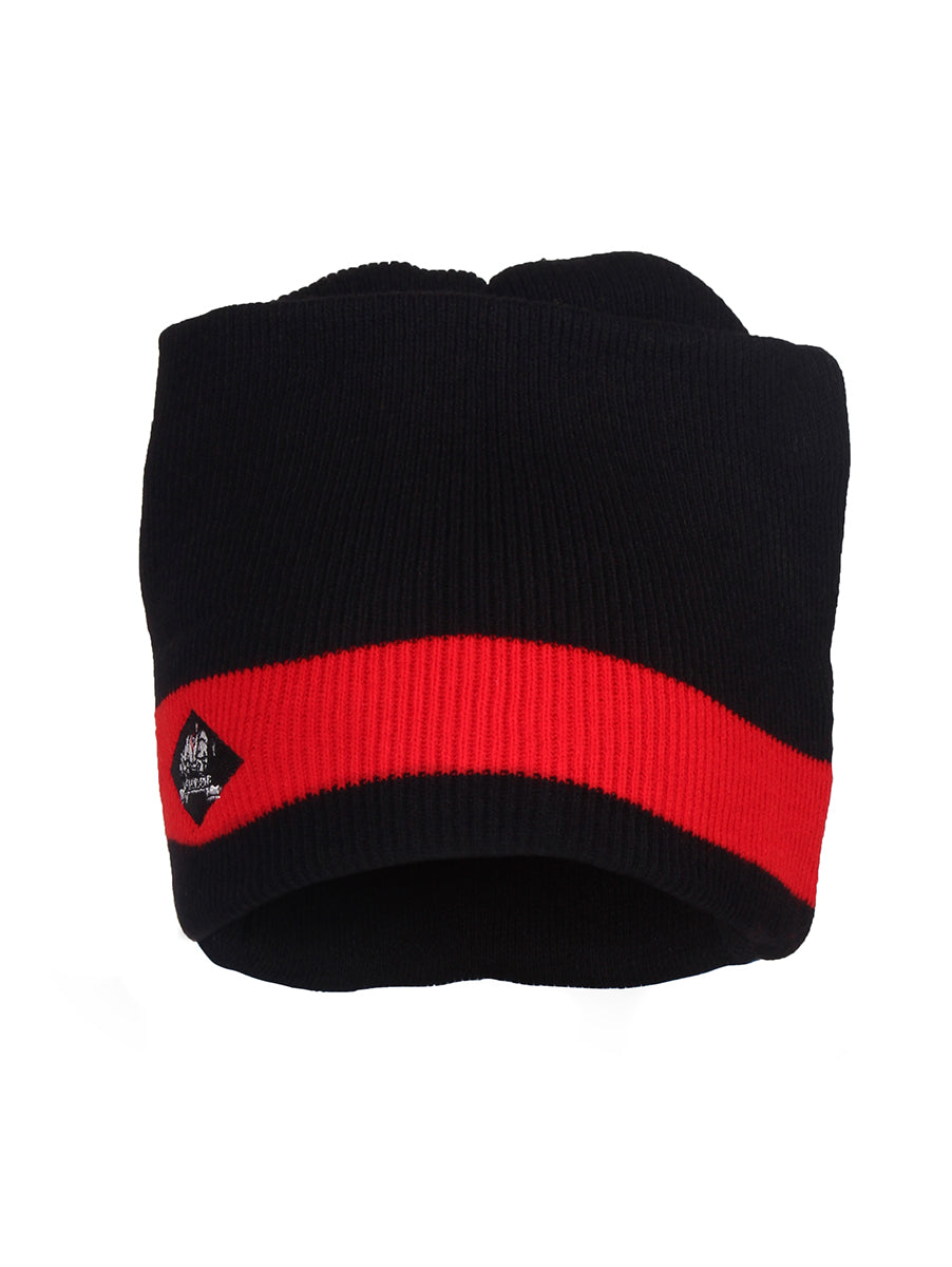 Black & Red Winter Cap Assam Regiment