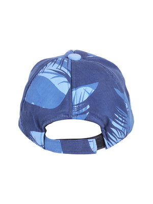 Blue Jungle Print FS Cap For Men
