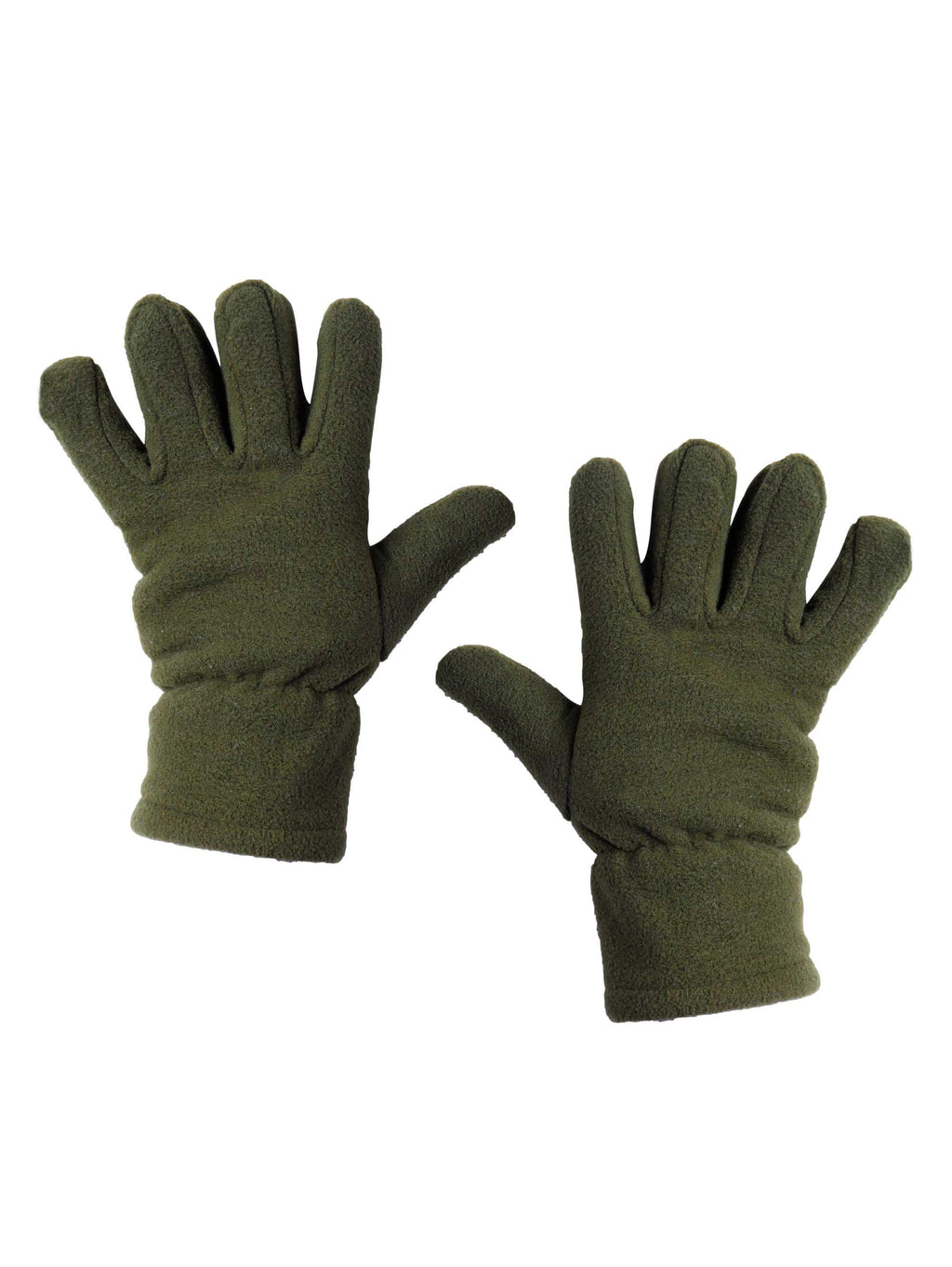 Olive Green Winter Gloves