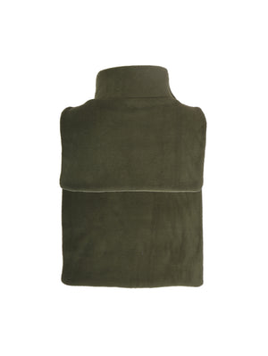 Fleece Olive Green High Neck