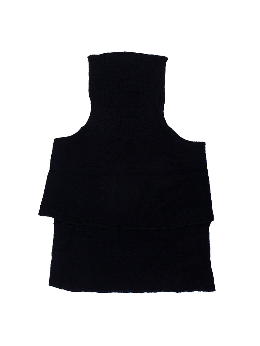 Black Woolen High Neck