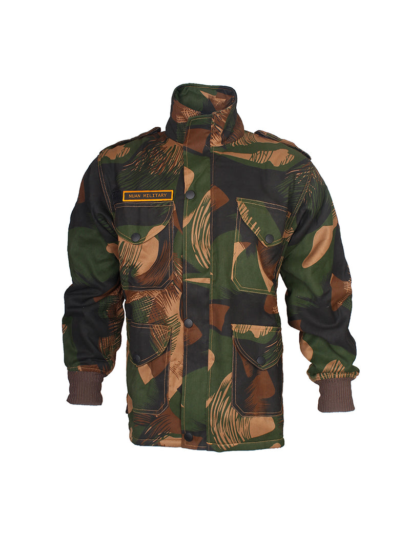 Camouflage Full Zip Jacket