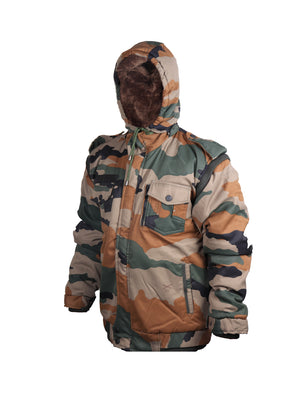Camouflage Print Jacket Indian Army